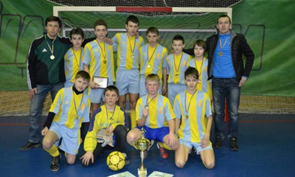 Луцькі школярі перемогли в чемпіонаті України з міні-футболу