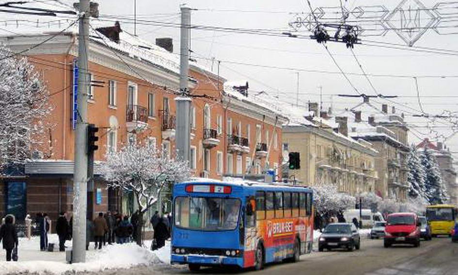 У Луцьку необхідно замінити майже 50 км тролейбусних ліній