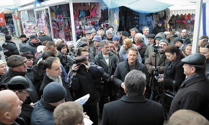Конфлікт між підприємцями «Варшавки» й облспоживспілкою набирає обертів