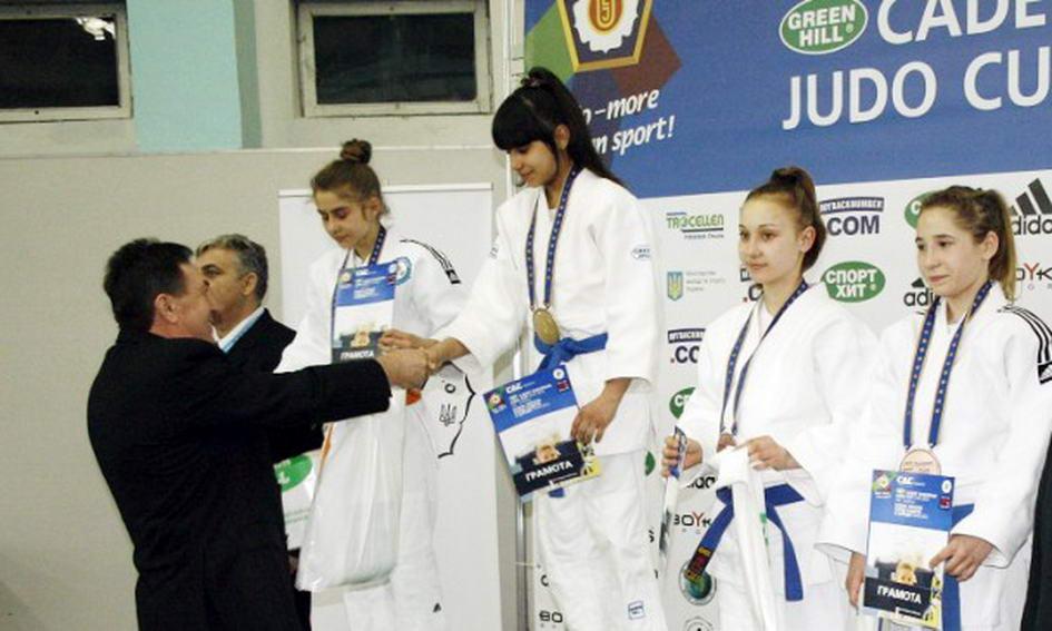 Волинська дзюдоїстка здобула «золото» на Кубку Європи серед кадетів