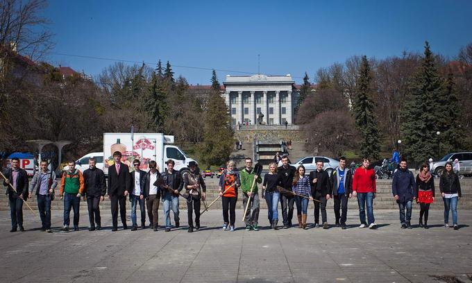 Сьогодні еко-воїни будуть наводити чистоту в Луцьку