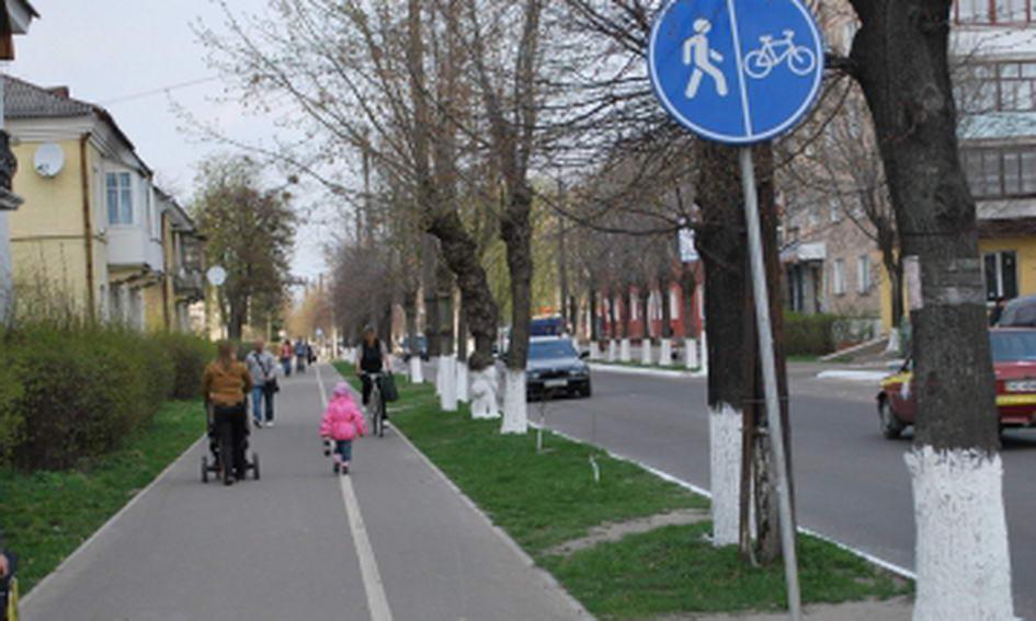 У Ковелі вже створюють велосипедні доріжки