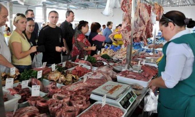 Найнижча ціна на продукти харчування — на оптових ринках