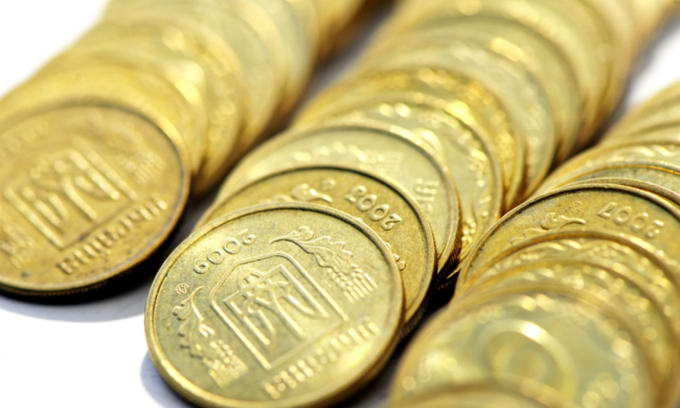 Дефіцит держбюджету склав понад 4,5 млрд. гривень