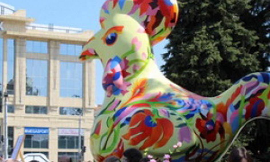 На Театральний майдан Луцька залетіла «Диво-птаха»