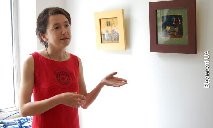 Волинська художниця показала, як діти бавляться