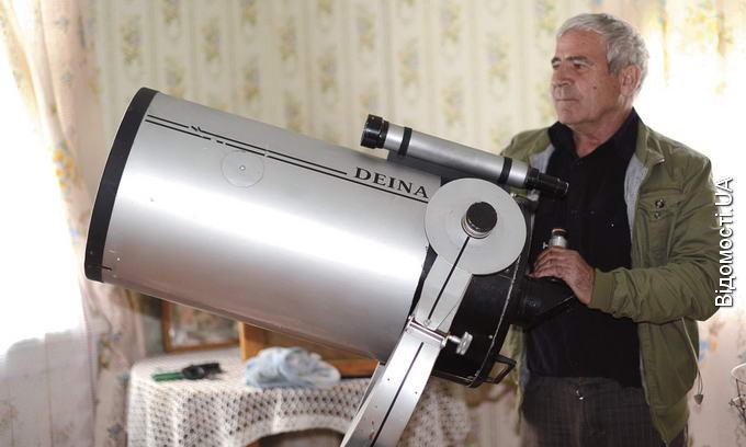 Олександр Дейна хоче облаштувати у селі обсерваторію