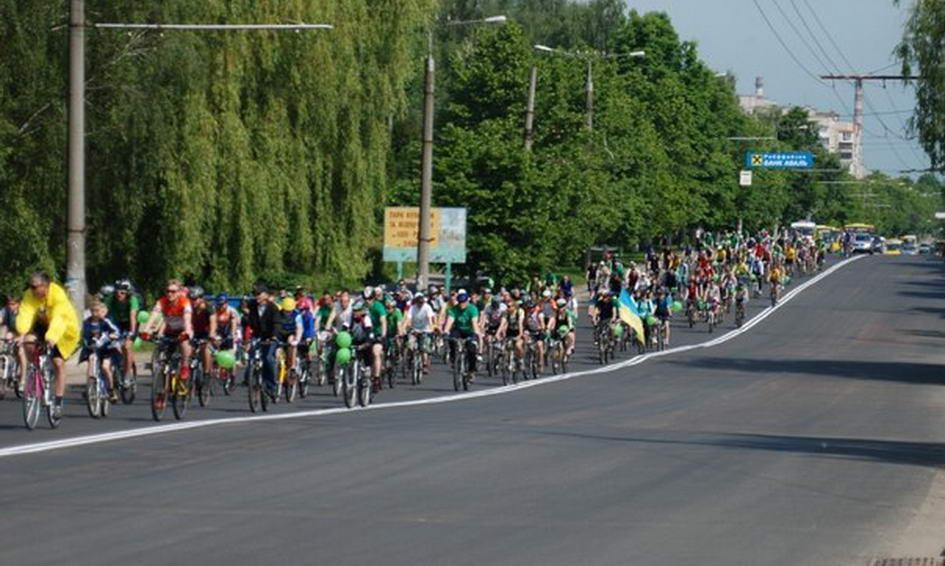 Велодень-2013 у Луцьку буде костюмованим