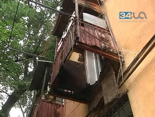 У кримському санаторії внаслідок падіння балкону загинула ді.