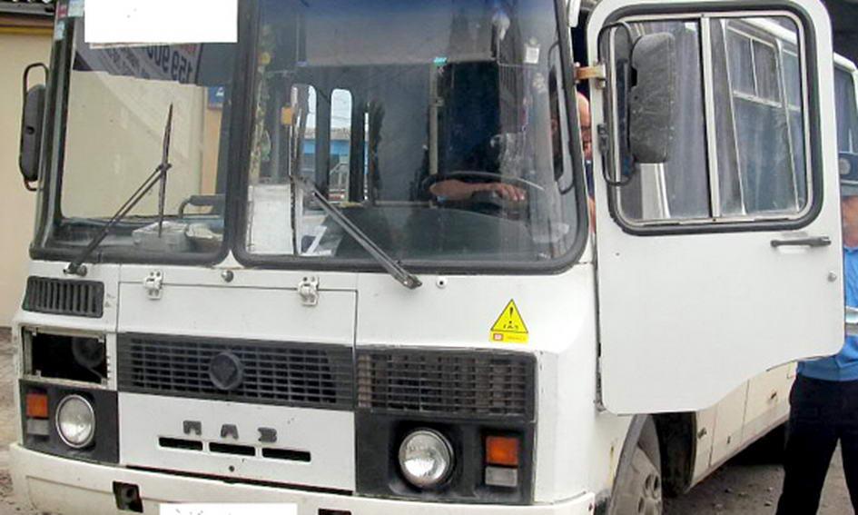 У Луцьку затримали пасажирський несправний автобус із нетверезим водієм за кермом