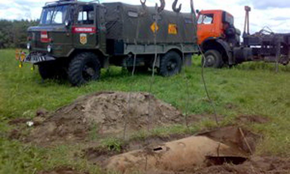 На Ковельщині знешкодили 500-кілограмову авіабомбу часів війни