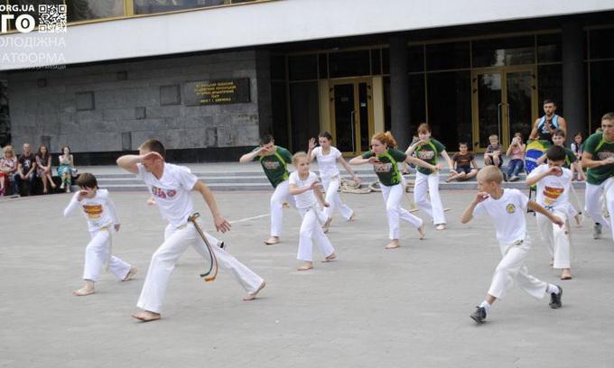 У Луцьку відбулося свято спорту