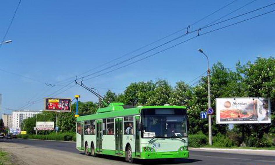 Оновлювати парк електротранспорту в Україні будуть вітчизняними тролейбусами