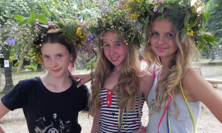Волинські пластуни провели мистецький табір для дівчаток і дітей
