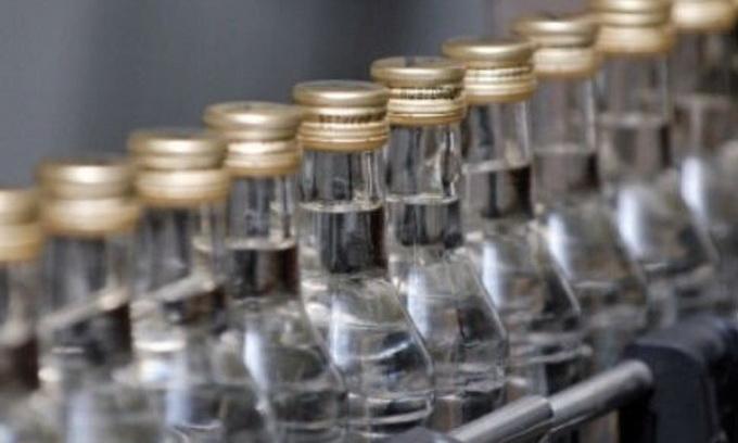 Виробництво горілки у першому півріччі скоротилося на 18%
