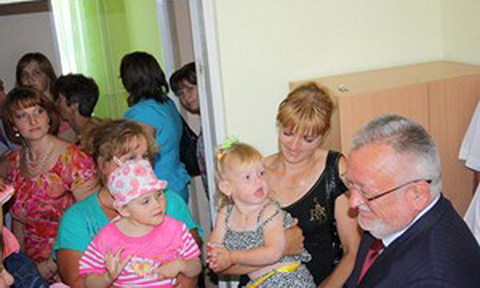У Любомлі відкрили Центр медико-соціальної реабілітації дітей-інвалідів