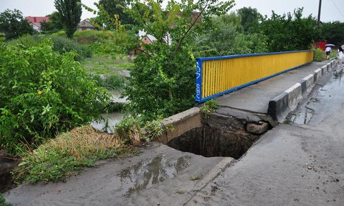 Злива у Луцьку нанесла місту значних збитків