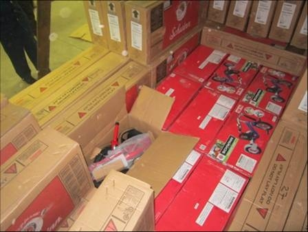 На Ягодині затримали 200 контрабандних велосипедів