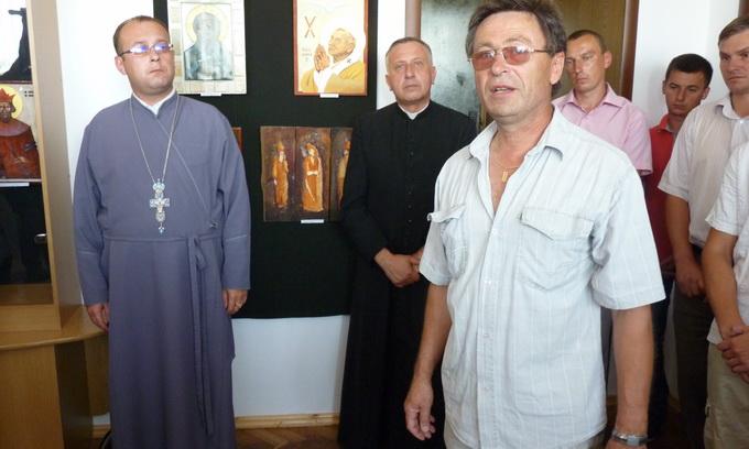Ікони, написані українськими й польськими митцями, продемонстрували у Любомлі