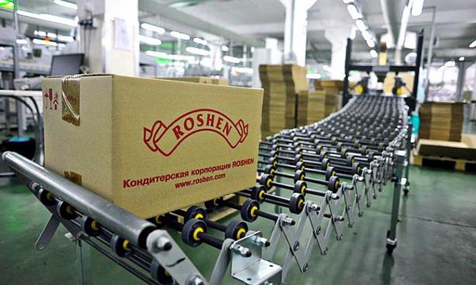 Українські підприємства Рошен перевірять інспектори Росспоживнагляду