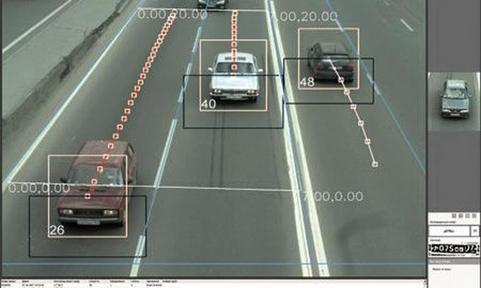 на дорогах меж городками установлены камеры какая их функции