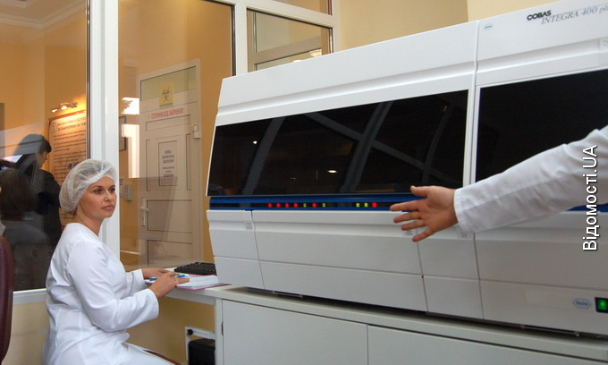 В обласній лікарні працює найсучасніше медичне обладнання