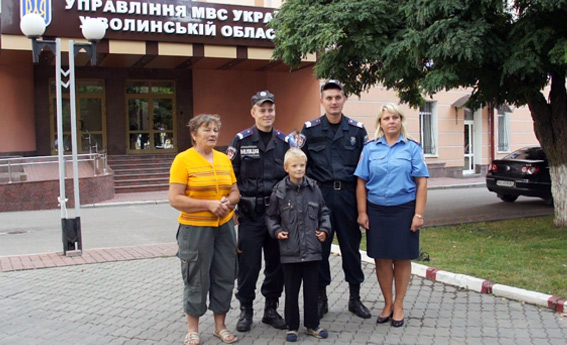 Волинський міліціонер знайшов хлопчика швидше, ніж бабуся помітила пропажу