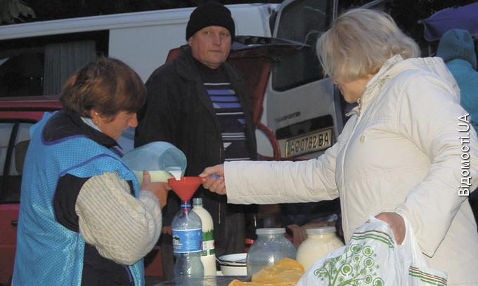 На ярмарках волиняни купують свіжу та недорогу сільгосппродукцію від виробника