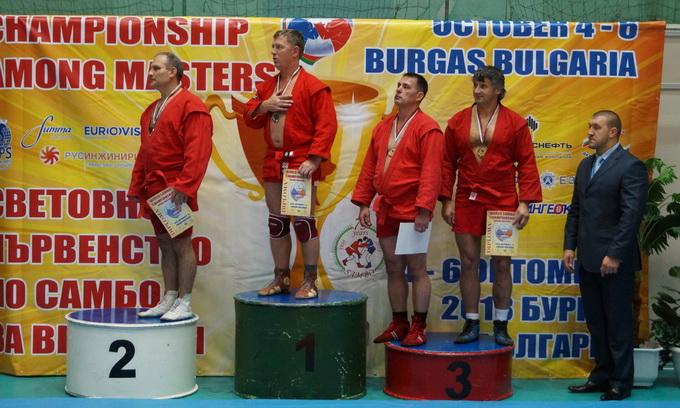 Олег Чернецький став чемпіоном світу з самбо