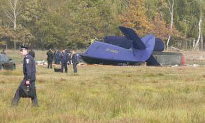 Проводиться розслідування за фактом падіння літака на Волині