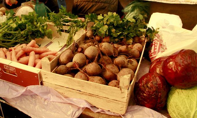 Ціни на овочі борщового набору продовжують зростати