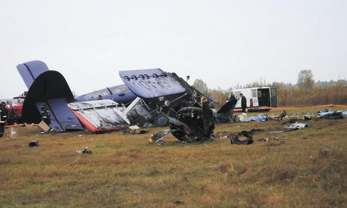 Біля Ковеля розбився літак, який перевозив контрабанду