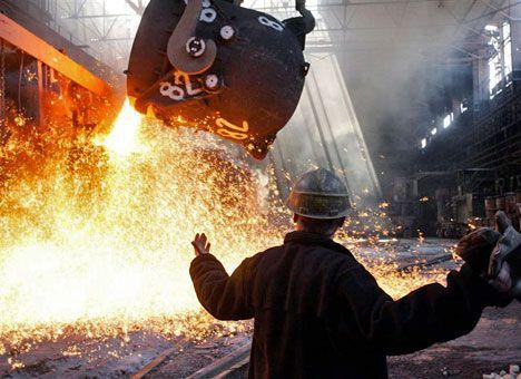 Україна опустилась на 10 сходинку в рейтингу світових лідерів із виробництва сталі