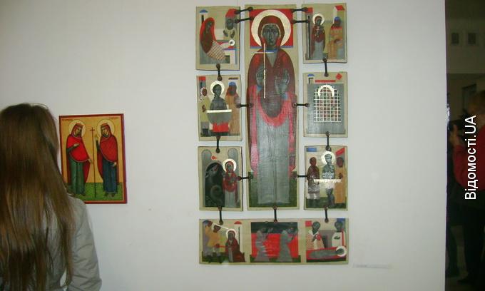 У Луцьку відкрилася виставка іконопису