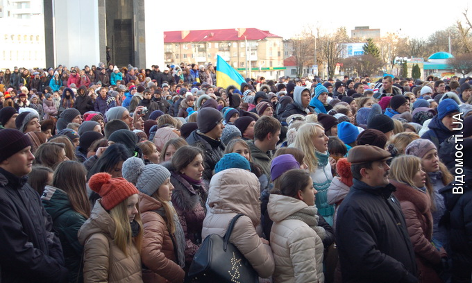 У Луцьку на страйк вийшли студенти та школярі