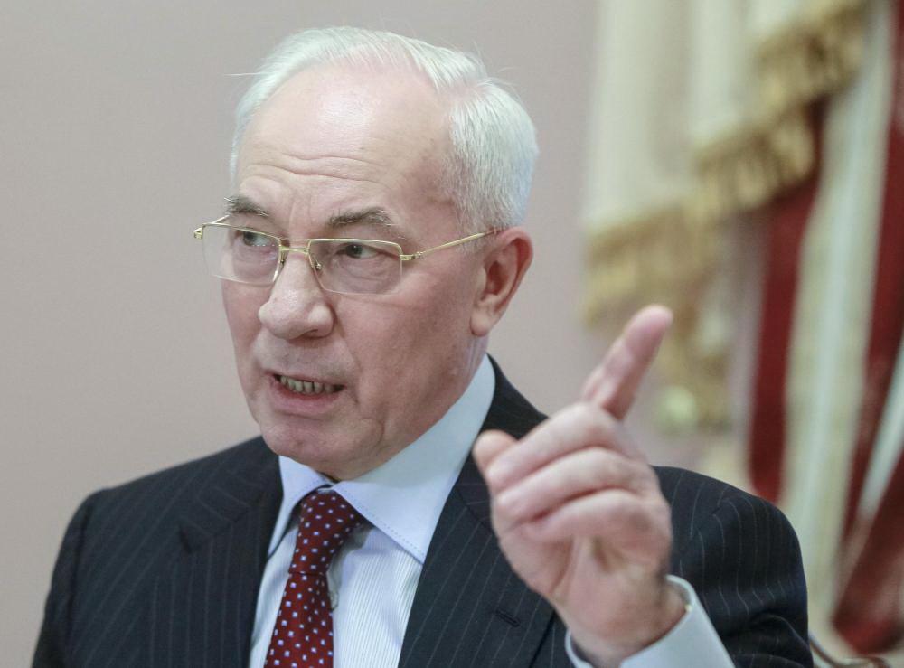 Азаров заявив, що через Євромайдан порушено графік погашення боргів із зарплат