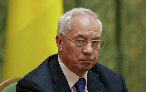 Азаров заявив, що після асоціації з ЄС відбудеться крах української економіки