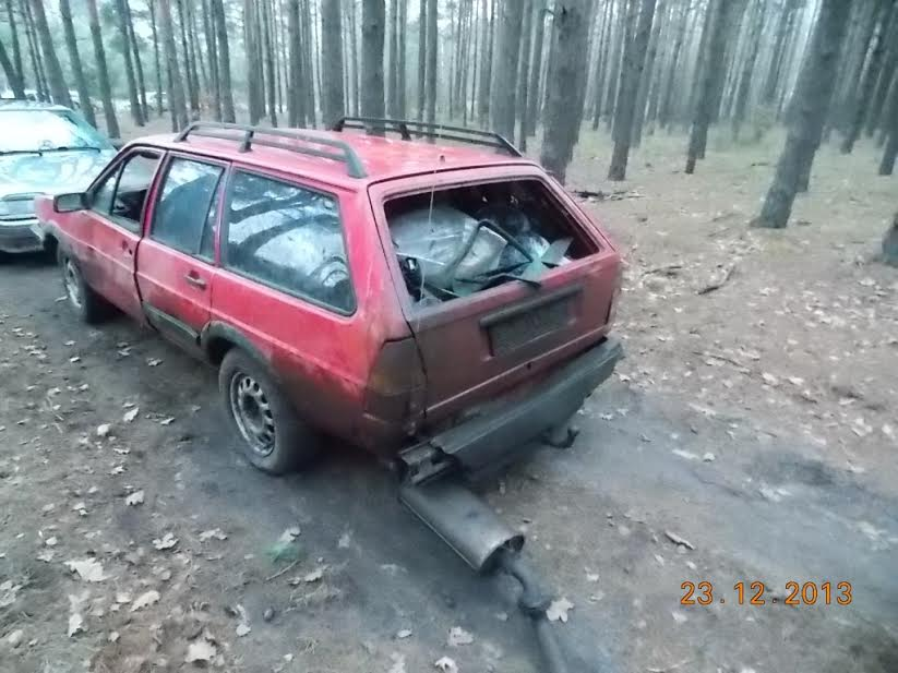На Волині спіймали двох білорусів з понад тонною телятини