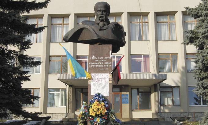 В Горохові на аукціон виставили пам'ятник Шевченку
