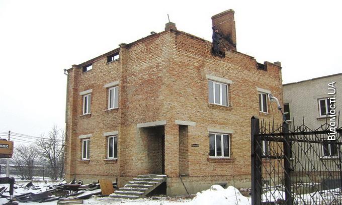 Хто підпалив швейний цех у Луцьку?