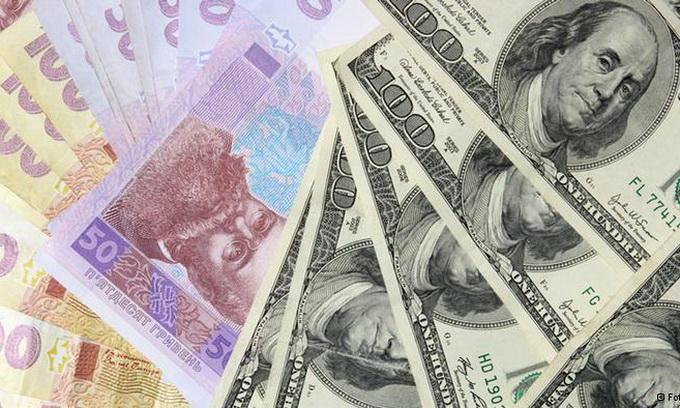 Долар подешевшав до 8,46 гривень