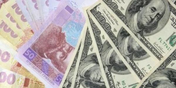 Долар вже по 10,65 гривень