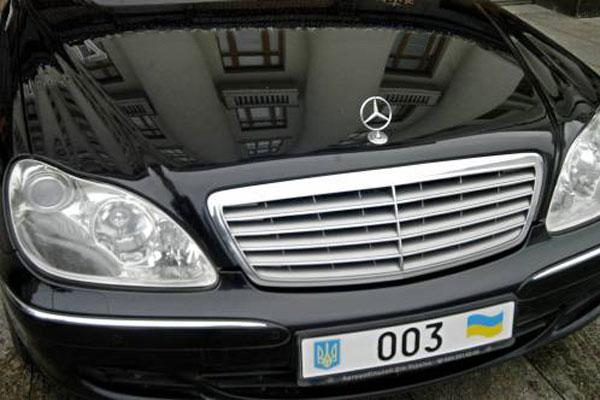 Кабмін проведе ревізію автопарків держустанов, державних резиденцій та дач