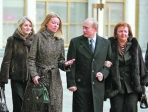 Дочери Путина: (Маша) Мария Путина и (Катя) Екатерина ...