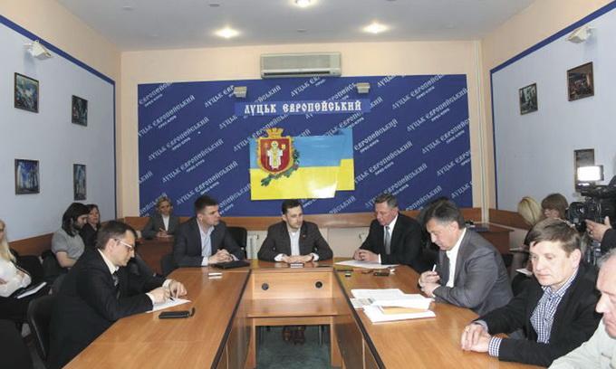У Луцькій міській раді підтримали пропозиції уряду щодо децентралізації влади
