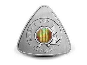 Канадська монета має форму гітарного медіатора