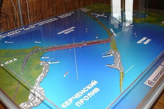 Китай так і не дав росіянам згоди на будівництво мосту через Керченську протоку