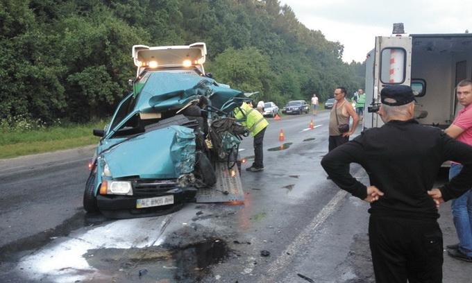 Волинь — у лідерах за аварійністю на дорогах