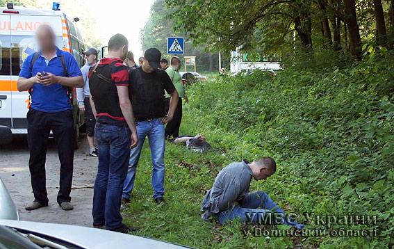 На Волині затримали озброєну банду грабіжників