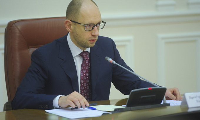 Яценюк доручив готуватися до відключення з понеділка газу з Росії